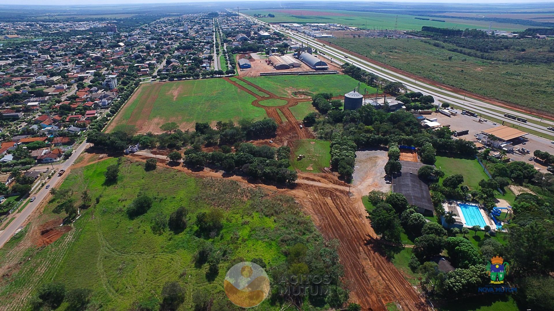 Nova Mutum Deu se inicio da obra de continuação de avenida dos Uirapurus